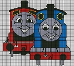 Thomas and James Crochet Pattern